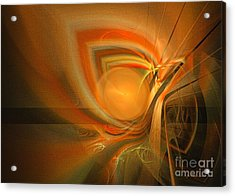 Equilibrium - Abstract Art Acrylic Print by Sipo Liimatainen