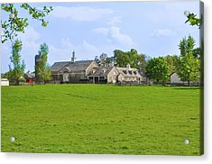 Acrylic Print featuring the photograph Erdenheim Farm - Whitemarsh Montgomery County Pa by Bill Cannon