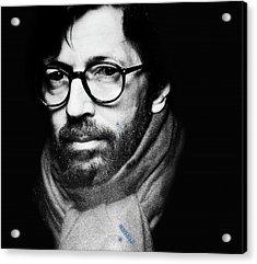 Eric Clapton Acrylic Print by Allen Beilschmidt