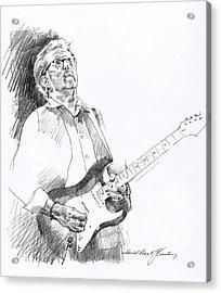Eric Clapton Joy Acrylic Print