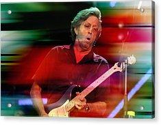 Eric Clapton Acrylic Print by Marvin Blaine