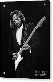 Eric Clapton Acrylic Print by Meijering Manupix