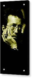 Eric Clapton Acrylic Print by Plamen Petkov