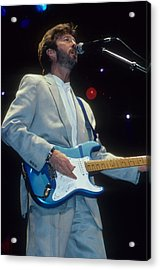 Eric Clapton Acrylic Print by Rich Fuscia