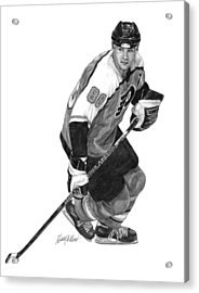 Eric Lindros Acrylic Print by Harry West
