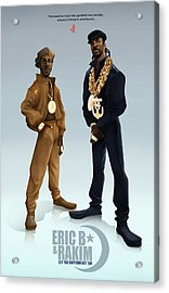 Ericb And Rakim Acrylic Print