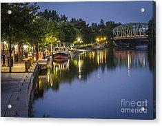 Erie Canal Shoreline Acrylic Print