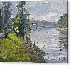 Erie Canal Acrylic Print