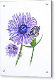 Erika's Butterfly Three Acrylic Print
