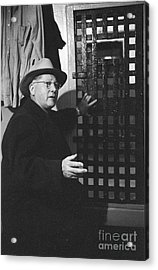 Erle Stanley Gardner Acrylic Print by The Harrington Collection