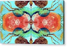 Ernsthaftes Spiel Im Inneren Erdteil - Digital Acrylic Print by Otto Rapp