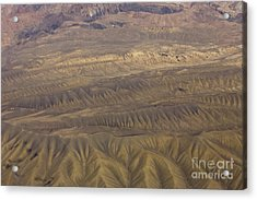 Eroded Hills Acrylic Print by Tim Grams