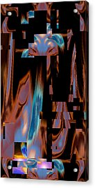 Erotic Composure - Practical Fantasy 2015 Acrylic Print by James Warren
