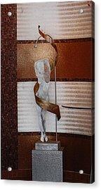 Erotic Museum Piece Acrylic Print by Rob Hans