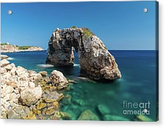 Acrylic Print featuring the photograph Es Pontas by Hans- Juergen Leschmann
