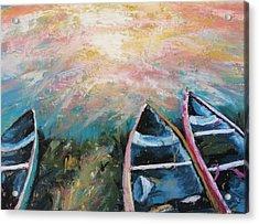 Escalante Canyon Sunrise Acrylic Print