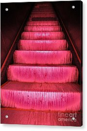 Escalier Acrylic Print by Reb Frost