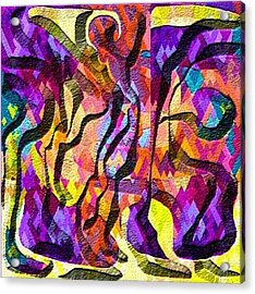 Escape Acrylic Print by Carola Ann-Margret Forsberg