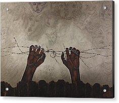 Escape Da Obscuridade Acrylic Print by Arnuda