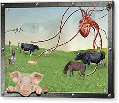 Escape From Eden Acrylic Print