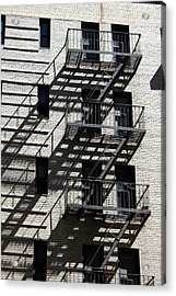 Escape The Shadows Acrylic Print by Jeff Porter