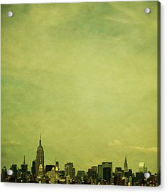 Escaping Urbania Acrylic Print by Andrew Paranavitana