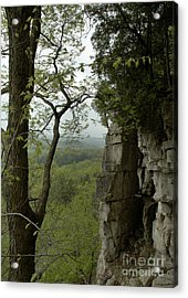 Escarpment Tunnel Acrylic Print