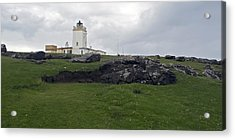 Eshaness Lighthouse Acrylic Print by Steve Watson