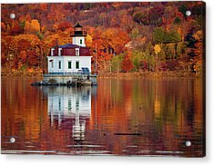 Esopus Lighthouse In Late Fall #2 Acrylic Print