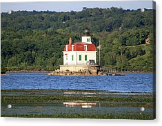 Acrylic Print featuring the photograph Esopus Lighthouse In Summer #4 by Jeff Severson