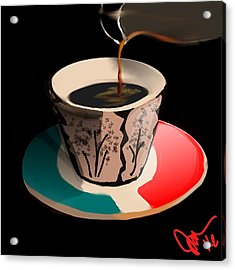 Espresso Acrylic Print