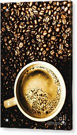 Espresso Roast Acrylic Print by Jorgo Photography - Wall Art Gallery