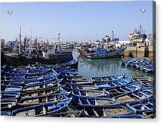 Essaouira Morocco Acrylic Print by Liz Pinchen