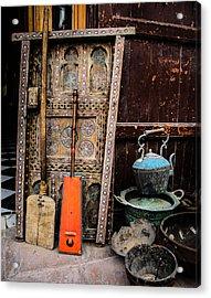 Essauoira Treasures Acrylic Print