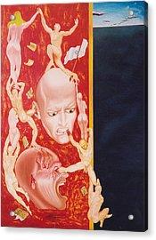 Essay On Non Lucidity Acrylic Print by Romeo Niram