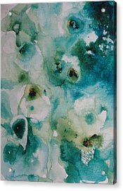Essence Of Flower Acrylic Print by Elizabeth Carr