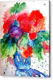 Essence Of Summer Acrylic Print