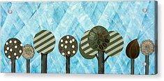 Essential Grove Acrylic Print by Graciela Bello