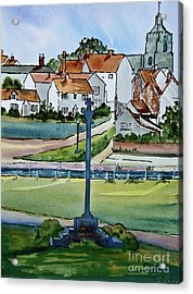 Essex Village In England Acrylic Print by Dianne Green