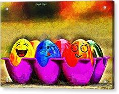Ester Eggs - Da Acrylic Print