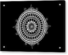 Estrella Mandala Acrylic Print