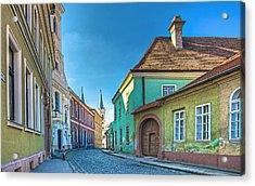 Esztergom Pastels Acrylic Print