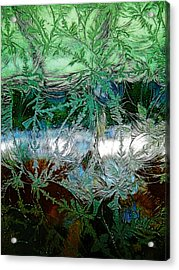 Etched Glass Acrylic Print