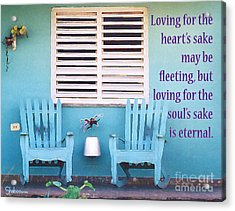 Eternal Love Acrylic Print