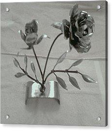 Eternal Rose Acrylic Print by Jeff Orebaugh
