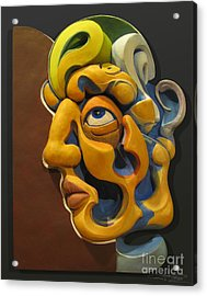 Eternal Thoughts Of A Mortal Mind Acrylic Print by James Day