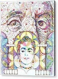 Eternidad- Sombra De Arreguin Acrylic Print