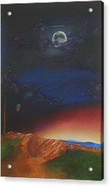 Eternity Acrylic Print by Richard    J Thorpe