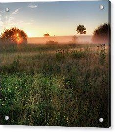 Ethereal Sunrise Square Acrylic Print