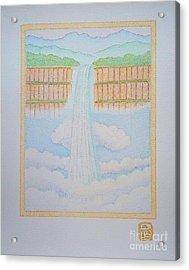 Ethiopian Waterfall Acrylic Print